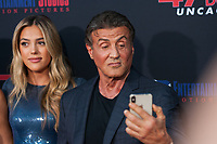 Los Angeles, CA - AUGUST 13th: <br /> Sistine Rose Stallone, Sylvester Stallone attends the 47 Meters Down: Uncaged premiere at the Regency Village Theater on August 13th 2019. Credit: Tony Forte/MediaPunch
