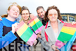 CONFERENCE: Announcing details of the LGBT conference to be held in Tralee in November, l-r: Margaret O'Donoghue, Martina O'Brien, Martin Greenwood, Maria Hickey (North and East Kerry Development).