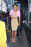 Robin Roberts on the set of ABC's Good Morning America