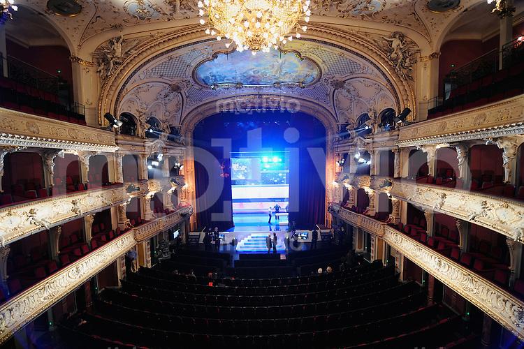 Fussball International  FIFA Gala FIFA Weltfussballer 2008 Uebersicht Opernhaus Zuerich