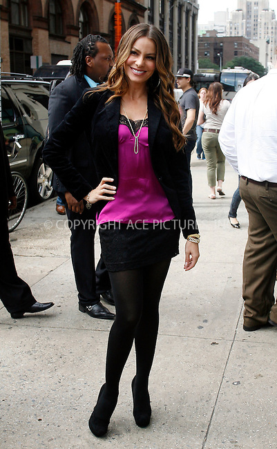 WWW.ACEPIXS.COM . . . . .  ....September 22 2011, New York City....Actress Sophia Vergara on her way to an event in midtown Manhattan on September 22 2011 in New York City....Please byline: CURTIS MEANS - ACE PICTURES.... *** ***..Ace Pictures, Inc:  ..Philip Vaughan (212) 243-8787 or (646) 679 0430..e-mail: info@acepixs.com..web: http://www.acepixs.com