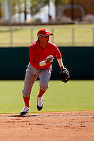 Miguel Rojas - Cincinnati Reds 2009 Instructional League. .Photo by:  Bill Mitchell/Four Seam Images..