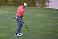 Rory McIlroy (NIR) sinks his putt on 17 during round 4 of the World Golf Championships, Mexico, Club De Golf Chapultepec, Mexico City, Mexico. 2/24/2019.<br /> Picture: Golffile | Ken Murray<br /> <br /> <br /> All photo usage must carry mandatory copyright credit (© Golffile | Ken Murray)