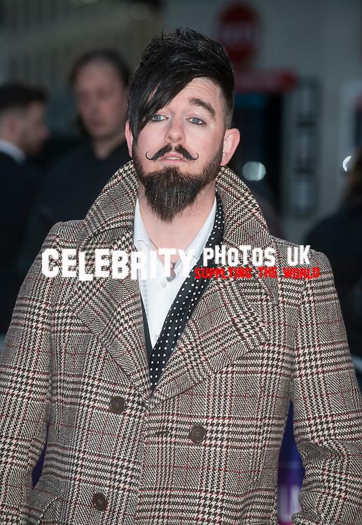 Matt Spracklen at the 'Mudbound' film premiere, BFI London Film Festival