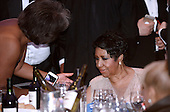 "The ""Queen of Soul"" Aretha Franklin  attends the White House Correspondents' Association annual dinner on April 30, 2016 at the Washington Hilton hotel in Washington.This is President Obama's eighth and final White House Correspondents' Association dinner.<br /> Credit: Olivier Douliery / Pool via CNP"