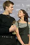 20/10/2012 - Grandi nomi del pattinaggio di figura su ghiaccio, si esibiscono per il Golden Skate 2012 al Palavela di Torino, il 20 ottobre 2012.<br /> <br /> Elena Ilinykh - Nikita Katsalapov