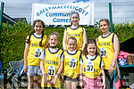 Enjoying the Community Games  at An Riocht Castleisland  on Saturday were Ballymac team Nicole Walker, Michelle O'Connor, Sorcha Murphy, Aine Murphy, roisin Riedy and roisin Rahilly