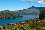New Zealand South Island, scenic view of Queen Charlotte Sound from Lochmara Lodge out of Picton. Photo copyright  Lee Foster.