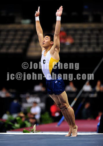 8/12/09 - Photo by John Cheng for USA Gymnastics.  VISA Championships take place at the American Airline Center in Dallas, Texas.