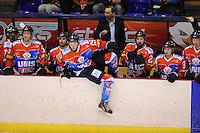 IJSHOCKEY: HEERENVEEN: 08-03-2014, IJsstadion Thialf, UNIS Flyers - Den Haag, ©foto Martin de Jong