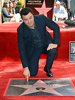 LOS ANGELES, USA. April 23, 2019: Seth MacFarlane at the Hollywood Walk of Fame Star Ceremony honoring actor, animator and comedian Seth MacFarlane.<br /> Picture: Paul Smith/Featureflash