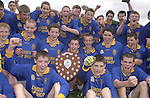 The Presentation Miltown team that defeated Kenmare Community School in the Kerry Colleges Russell Shield final at Dr. Crokes field, Killarney  on Tuesday afternoon.<br />Picture: Eamonn Keogh (MacMonagle, Killarney)
