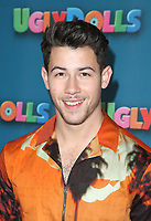 LOS ANGELES, CA - APRIL 13: Nick Jonas at the photo call for Ugly Dolls at The Four Seasons in Los Angeles, California on April 13, 2019. <br /> CAP/MPI/FS<br /> &copy;FS/MPI/Capital Pictures
