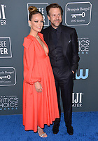 SANTA MONICA, USA. January 12, 2020: Olivia Wilde & Jason Sudeikis at the 25th Annual Critics' Choice Awards at the Barker Hangar, Santa Monica.<br /> Picture: Paul Smith/Featureflash