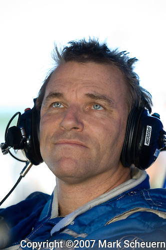 31 August 2007: Highcroft Racing driver Stefan Johansson  (SWE) at the Detroit Sports Car Challenge presented by Bosch, Detroit, MI