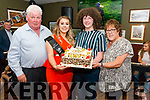 Kate Horgan from Listry celebrated her 21st birthday surrounded by friends and family in the Sportsman Bar, Killarney last Sunday night. Pictured with her dad Patsy, brother Paudie and mother Noreen Horgan.