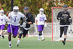 Orange, CA 05/16/15 - Kris Holland (Grand Canyon #1) and Sam Banks (Colorado #7) in action during the 2015 MCLA Division I Championship game between Colorado and Grand Canyon, at Chapman University in Orange, California.