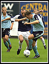 28/9/02       Copyright Pic : James Stewart                     .File Name : stewart-falkirk v st j'stone 14.IAN MAXWELL HOLDS OFF LEE MILLER......James Stewart Photo Agency, 19 Carronlea Drive, Falkirk. FK2 8DN      Vat Reg No. 607 6932 25.Office : +44 (0)1324 570906     .Mobile : + 44 (0)7721 416997.Fax     :  +44 (0)1324 570906.E-mail : jim@jspa.co.uk.If you require further information then contact Jim Stewart on any of the numbers above.........