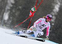 ATENCAO EDITOR IMAGEM EMBARGADA PARA VEICULOS INTERNACIONAIS - SEMMERING, AUSTRIA, 28 DEZEMBRO 2012 - AUDI FIS ALPINE WORLD CUP - A atleta alema MAria Hoefl Risch compete na prova de Slalom Gigante do esqui Alpino durante a Audi FIS World Cup em Semmering na Austria nesta sexta-feira, 28. (FOTO: PIXATHLON / BRAZIL PHOTO PRESS).