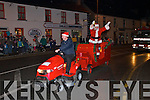 Santa arriving in Abbeyfeale on Friday night to turn on the Christmas Lights.
