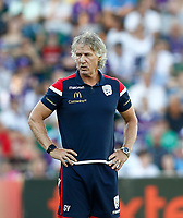 11th January 2020; HBF Park, Perth, Western Australia, Australia; A League Football, Perth Glory versus Adelaide United; Gertjan Verbeek head coach of Adelaide United - Editorial Use