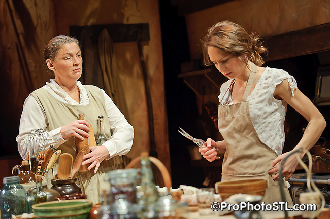 """""""Cooking with Elisa"""" by Upstream Theater at Kranzberg Arts Center in St. Louis, MO on Jan 7, 2011."""