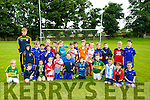 Under 6's Enjoying the Ballymac Cul Camp on Monday