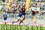 Jack Barry Kerry in action against Tom Parsons Mayo in the All Ireland Semi Final Replay in Croke Park on Saturday.
