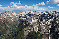 San Juan Mountains near Telluride, Colorado.  June 2013.