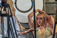 SÃO PAULO, SP, 06.12.2018 - CCXP - Maisie Willians, atriz de Game of Thrones durante a Comic Con Experience na São Paulo Expo no bairro da Água Funda, na região Sul da cidade de São Paulo nesta quinta-feira, 06. (Foto: Anderson Lira/Brazil Photo Press)