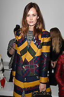 Charlotte De Carle<br /> at the Teatum Jones AW17 show as part of London Fashion Week AW17 at 180 Strand, London.<br /> <br /> <br /> &copy;Ash Knotek  D3230  17/02/2017