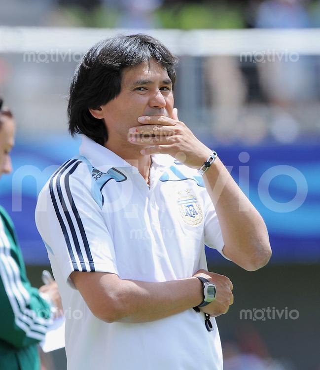 Fussball Frauen FIFA U 20  Weltmeisterschaft 2008     22.11.2008 USA - Argentinien ARG Trainer Yasushi Kawakami (JPN)