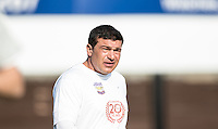Actor Tamer Hassan during the 'Greatest Show on Turf' Celebrity Event - Once in a Blue Moon Events at the London Borough of Barking and Dagenham Stadium, London, England on 8 May 2016. Photo by Kevin Prescod.
