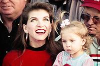 Teresa Earnhardt and daughter Taylor Earnhardt, Atlanta Journal 500, Atlanta Motor Speedway, Hampton, GA, November 18, 1990. (Photo by Brian Cleary/bcpix.com)