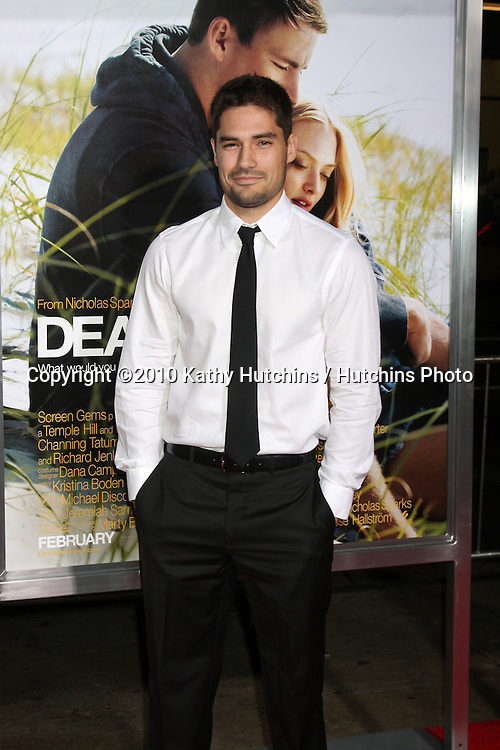 "D.J. Cotrona.arriving at the ""Dear John"" Premiere.Grauman's Chinese Theater.Los Angeles, CA.February 1, 2010.©2010 Kathy Hutchins / Hutchins Photo...."