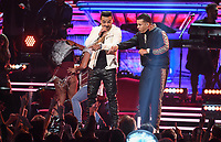 NEW YORK - JANUARY 28: Luis Fonsi and Daddy Yankee appear on the 60th Annual Grammy Awards at Madison Square Garden on January 28, 2018 in New York City. (Photo by Frank Micelotta/PictureGroup)