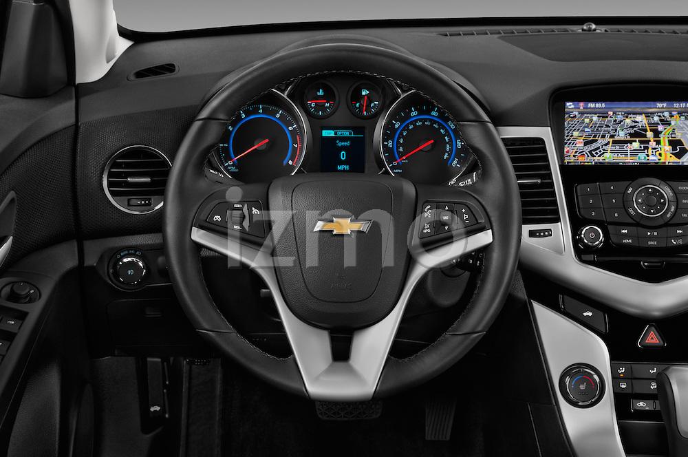 Car pictures of steering wheel view of a 2016 Chevrolet Cruze-Limited 2LT-Auto 4 Door Sedan Steering Wheel