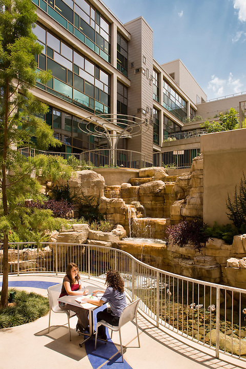 Dell Children's Medical Center, Austin Texas<br /> The Dell Children's Hospital was completed in July of 2007 but the landscape and fine-tuning on some of the interiors wasn't completed until June 2008. TBG Partners in Austin designed the surrounding landscape and interior courtyards. The hospital was designed by Karlsberger Planning, Architecture &amp; Design, Columbus Ohio. We spent three days shooting this project - inside and out.