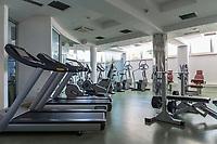 Croatia, Kvarner Gulf, Opatija: at Thalasso Wellness Centar Opatija, fitness-center | Kroatien, Kvarner Bucht, Opatija: im Thalasso Wellness Centar Opatija, fitness-center