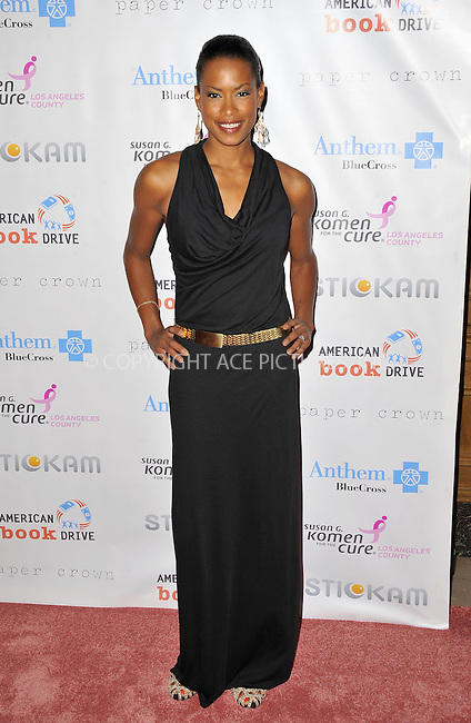 WWW.ACEPIXS.COM......October 13, 2012, Los Angeles, CA.....Kearran Giovanni arriving at 'Designs For The Cure'  at the Millennium Biltmore Hotel on October 13, 2012 in Los Angeles, California. ..........By Line: Peter West/ACE Pictures....ACE Pictures, Inc..Tel: 646 769 0430..Email: info@acepixs.com