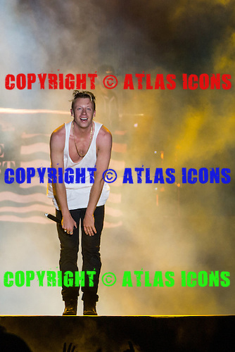 MACKLEMORE RYAN LEWIS; Live: 2014<br /> Photo Credit: JOSH WITHERS/ATLASICONS.COM