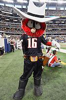 Texas Tech mascot Red Raider during an NCAA Football game, Saturday, November 29, 2014 in Arlington, Tex. Baylor defeated Texas Tech 48-46. (Mo Khursheed/TFV Media via AP Images)