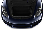 Car stock 2019 Porsche 718 Boxster Base 2 Door Convertible engine high angle detail view