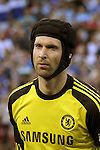 23 May 2013:  Petr Cech (1)(CZE) of Chelsea.  Chelsea F.C. was defeated by Manchester City 3-4 at Busch Stadium in Saint Louis, Missouri, in a friendly exhibition soccer match.
