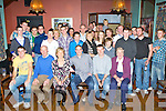 Gearoid O'Shea, Farranfore, seated centre who celebrated his 21st in Ulicks bar Farranfore on Sunday night with his family and friends ..