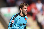 08/08/2015 Sky Bet League 1 Fleetwood Town v Southend United<br /> Chris Maxwell
