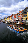 Denmark: Copenhagen, Nyhavn outdoor cafes, photo: viking101  .Photo copyright Lee Foster, www.fostertravel.com , 510/549-2202, lee@fostertravel.com