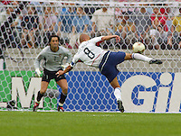 USA 3-2 over Portugal at the World Cup 2002 in Korea, June 5, 2002.