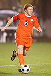 14 November 2008: Virginia's Matt Poole. The University of Virginia defeated Wake Forest 3-2 in two overtimes at WakeMed Stadium at WakeMed Soccer Park in Cary, NC in a men's ACC tournament semifinal game.