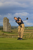 David Hunt (Nenagh) on the 13th tee during Round 2 of The South of Ireland in Lahinch Golf Club on Sunday 27th July 2014.<br /> Picture:  Thos Caffrey / www.golffile.ie
